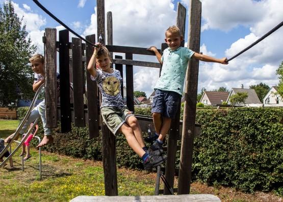 Buiten spelen in Midden-Drenthe