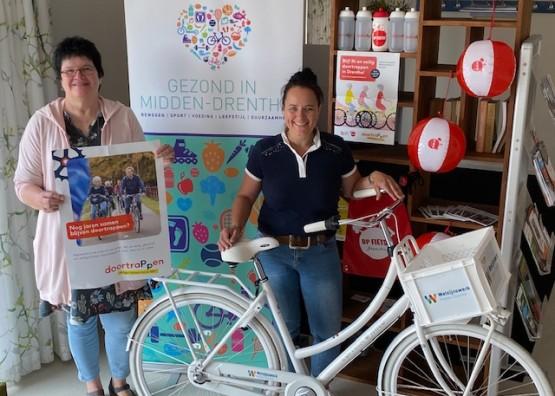 Doortrappen in Drenthe voor 60 plussers