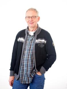 Opbouwwerker Harry Tijms