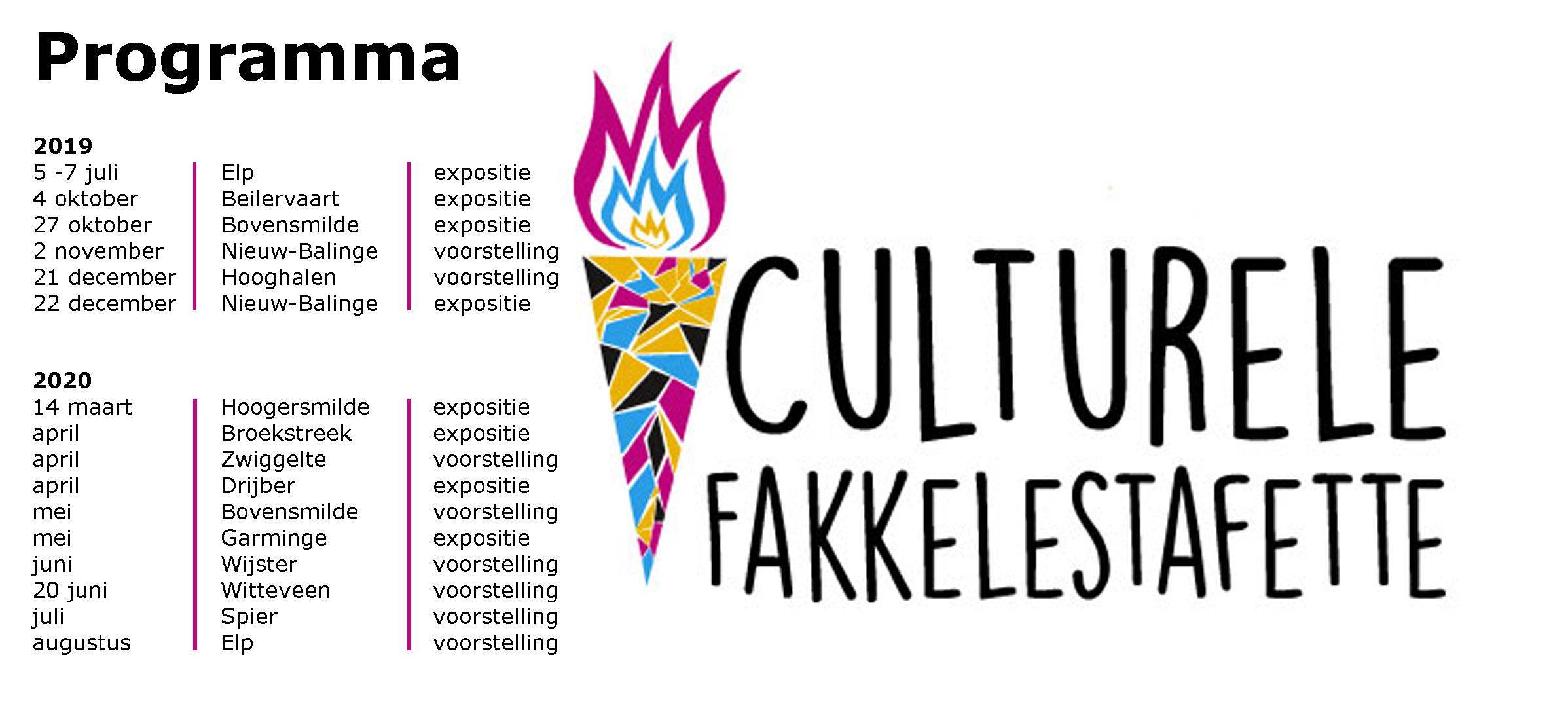 Programma culturele fakkelestafette